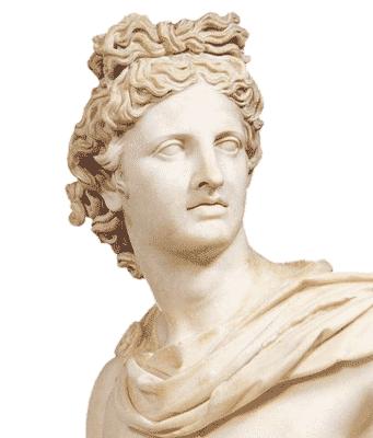 Бог солнца Аполлон